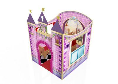 Castelinho Castelo Disney Princesas Buffet Infantil com atividades (2)