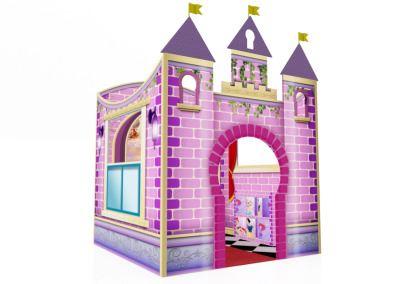 Castelinho Castelo Disney Princesas Buffet Infantil com atividades (3)