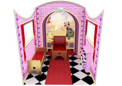 Castelinho Castelo Disney Princesas Buffet Infantil com atividades (4)