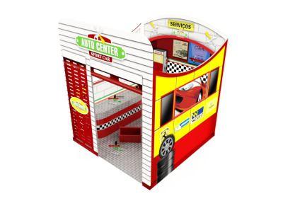 Cenografia Auto Center Mini Oficina Buffet Infantil com atividades (2)