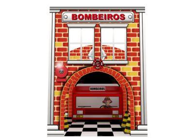 Cenografia Bombeiro Corpo de Bombeiros Buffet Infantil com atividades (1)