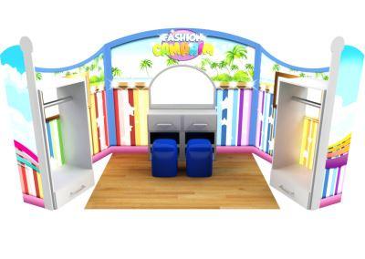 Cenografia Camarim Fantasias Buffet Infantil com atividades  (4)