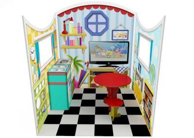 Cenografia Casinha Buffet Infantil com atividades (4)