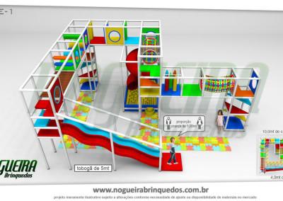 Brinquedão Kid Play Para Buffet Infantil Extra Grande (1)