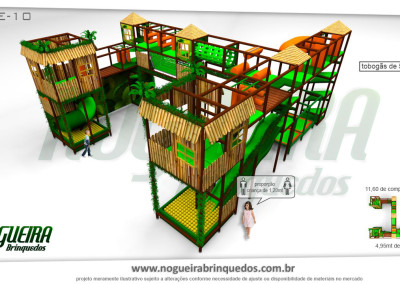 Brinquedão Kid Play Para Buffet Infantil Extra Grande (10)