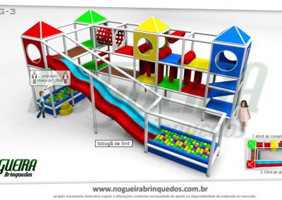 Brinquedão Kid Play Para Buffet Infantil Grande (12)