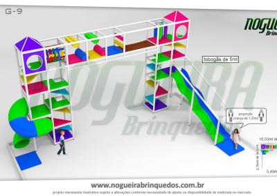 Brinquedão Kid Play Para Buffet Infantil Grande (2)