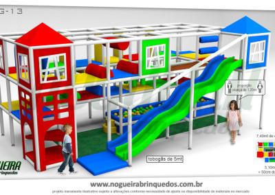 Brinquedão Kid Play Para Buffet Infantil Grande (4)