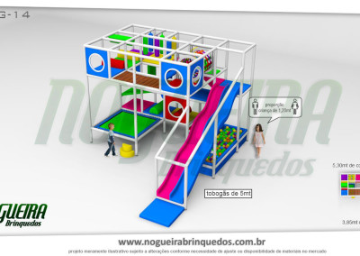 Brinquedão Kid Play Para Buffet Infantil Grande (5)