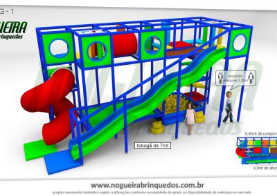 Brinquedão Kid Play Para Buffet Infantil Grande (7)