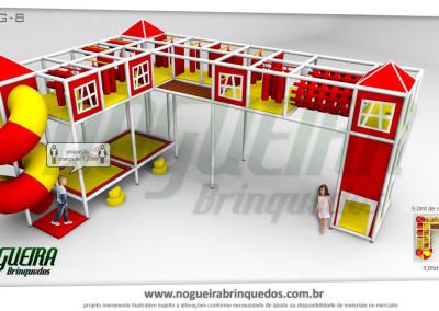 Brinquedão Kid Play Para Buffet Infantil Grande (8)