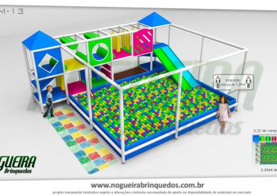 Brinquedão Kid Play Para Buffet Infantil Médio (14)