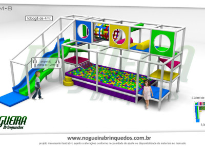 Brinquedão Kid Play Para Buffet Infantil Médio (4)