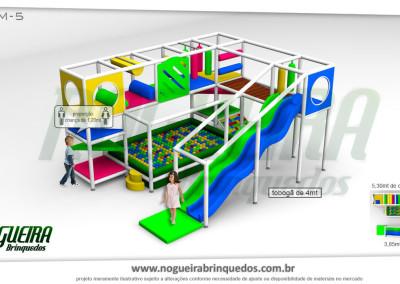 Brinquedão Kid Play Para Buffet Infantil Médio (7)