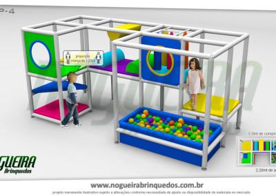 Brinquedão Kid Play Para Buffet Infantil Pequeno (1)
