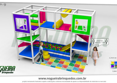 Brinquedão Kid Play Para Buffet Infantil Pequeno (10)