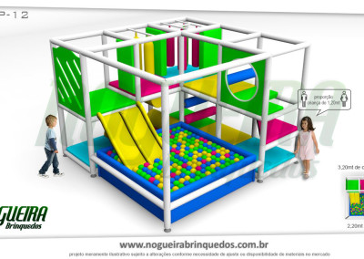 Brinquedão Kid Play Para Buffet Infantil Pequeno (13)