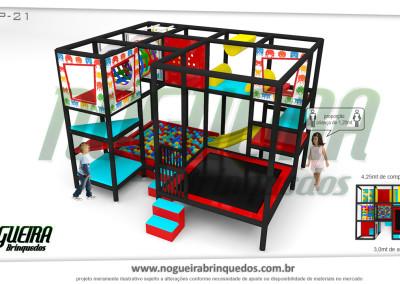 Brinquedão Kid Play Para Buffet Infantil Pequeno (17)