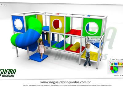 Brinquedão Kid Play Para Buffet Infantil Pequeno (2)