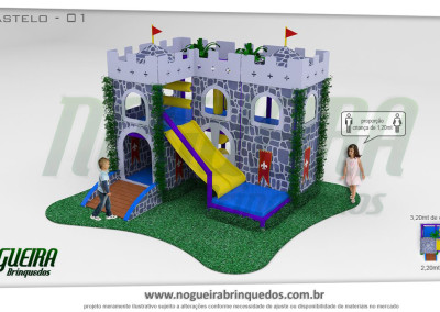 Brinquedão Kid Play Para Buffet Infantil Pequeno (4)