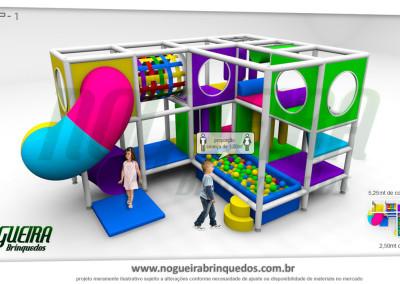 Brinquedão Kid Play Para Buffet Infantil Pequeno (5)