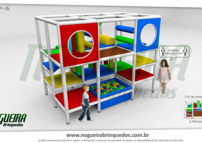 Brinquedão Kid Play Para Buffet Infantil Pequeno (7)