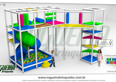 Brinquedão Kid Play Para Buffet Infantil Pequeno (9)