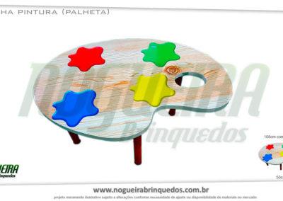 Mesa-Palheta
