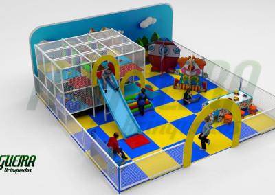 Mini Parque Nogueira Brinquedos Para Buffet Infantil - Shoppiings (1)
