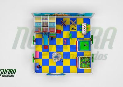 Mini Parque Nogueira Brinquedos Para Buffet Infantil - Shoppiings (3)