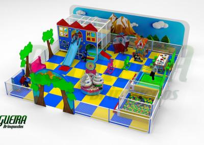 Mini Parque Nogueira Brinquedos Para Buffet Infantil - Shoppiings (4)