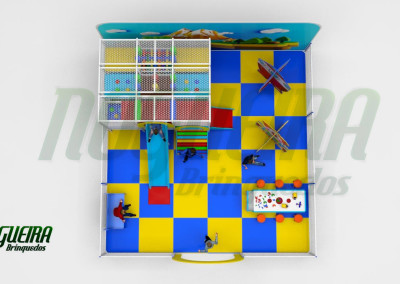 Mini Parque Nogueira Brinquedos Para Buffet Infantil - Shoppiings (5)