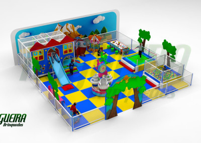 Mini Parque Nogueira Brinquedos Para Buffet Infantil - Shoppiings (6)