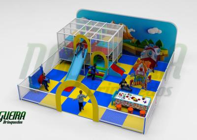 Mini Parque Nogueira Brinquedos Para Buffet Infantil - Shoppiings (7)