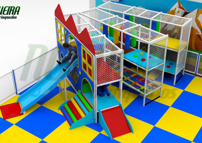 Mini Parque Nogueira Brinquedos Para Buffet Infantil - Shoppiings (8)