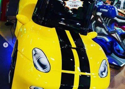 Simulador de corrida Pontiac
