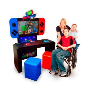 Multijogos Acessibilidade | Fliperama com 300 jogos