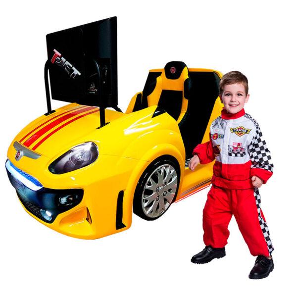 Fiat Punto Simulador de Corridas da Nogueira Brinquedos