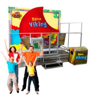 Barco Viking | Brinquedo Eletrômecânico