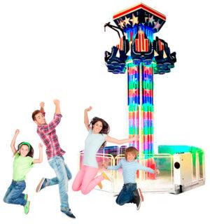 Torre Espacial | Brinquedo Eletrômecânico