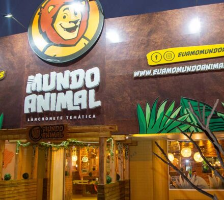 Fachada da Mundo Animal a Nogueira Brinquedos se tornou a fornecedora oficial da franquia